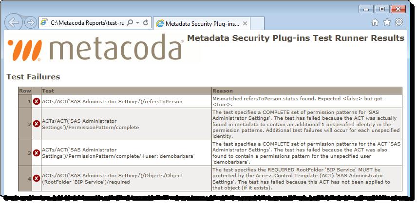 Metacoda Test Runner Export