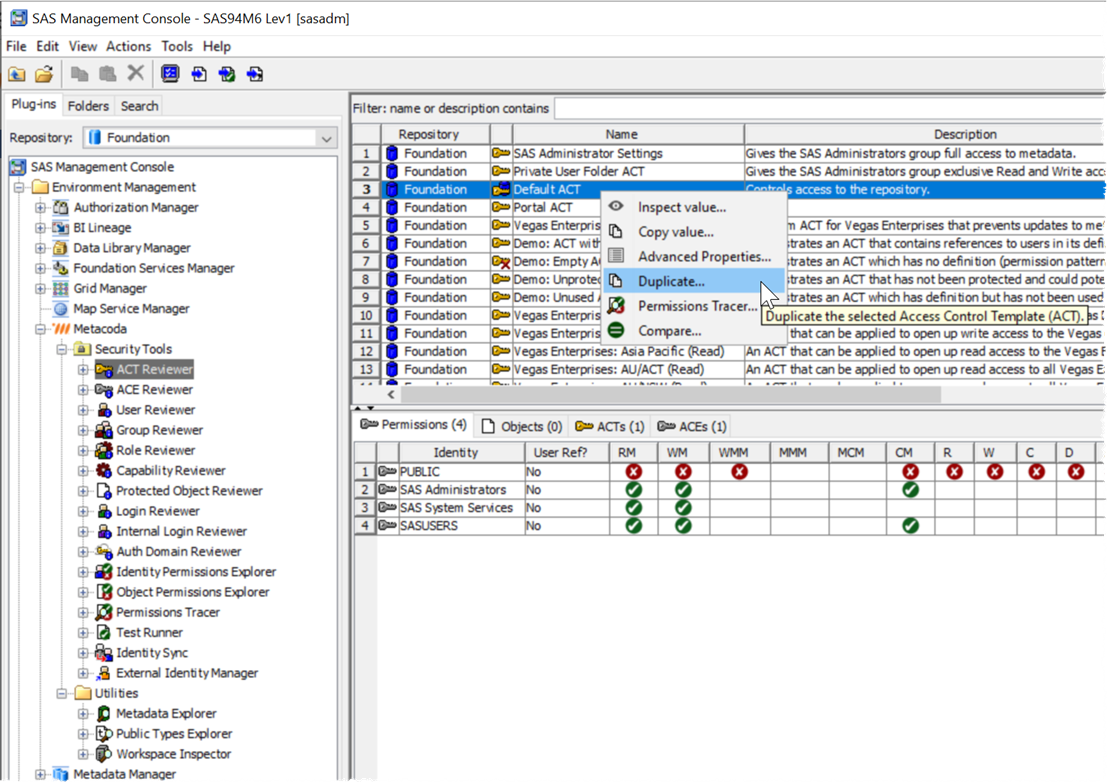 Metacoda Plugins ACT Reviewer Duplicate ACT Context Menu