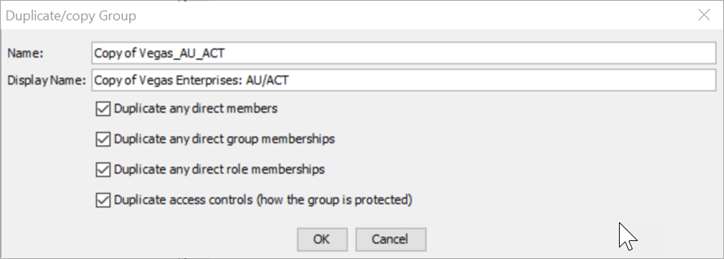 Metacoda Plugins Group Reviewer Duplicate Group Dialog